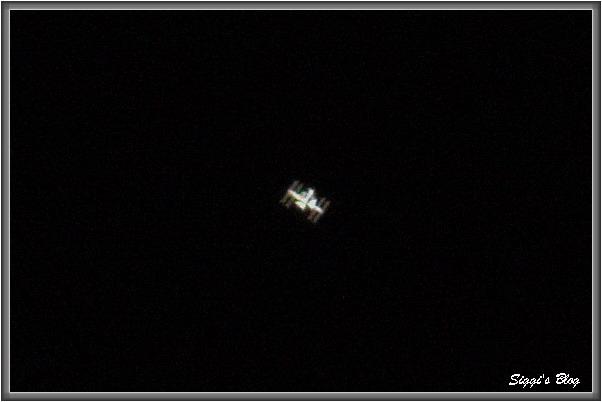 ISS 1. Versuch