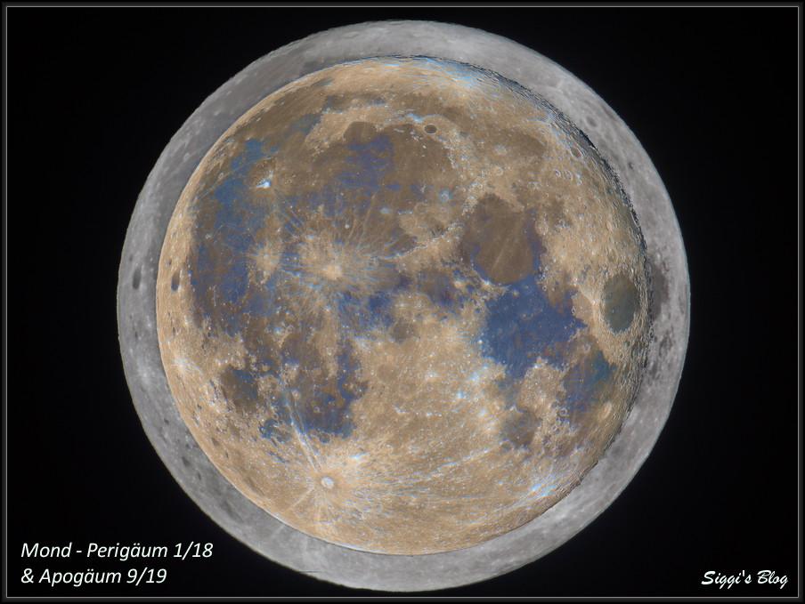 190914 & 180101 Mond am nächsten und fernsten (Perigäum & Apogäum)