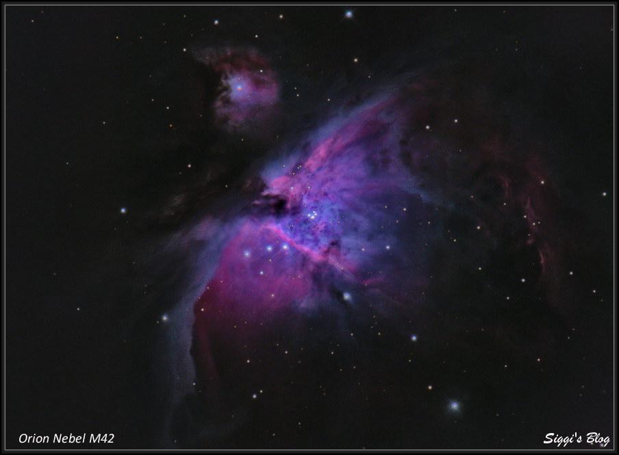 190118 Orion Neble / M42 Zentrum