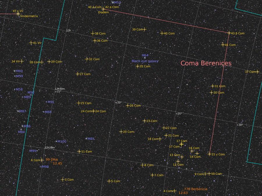 200324 Haar der Berenike - Coma Berenices  / COM