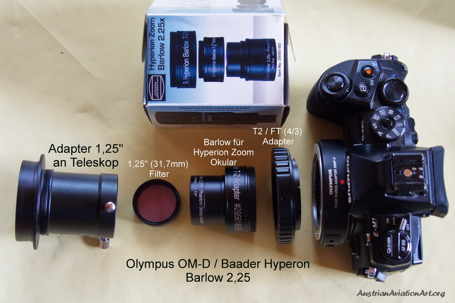 Objektivadapter adapter kamera objektiv teleskop teleobjektiv rin