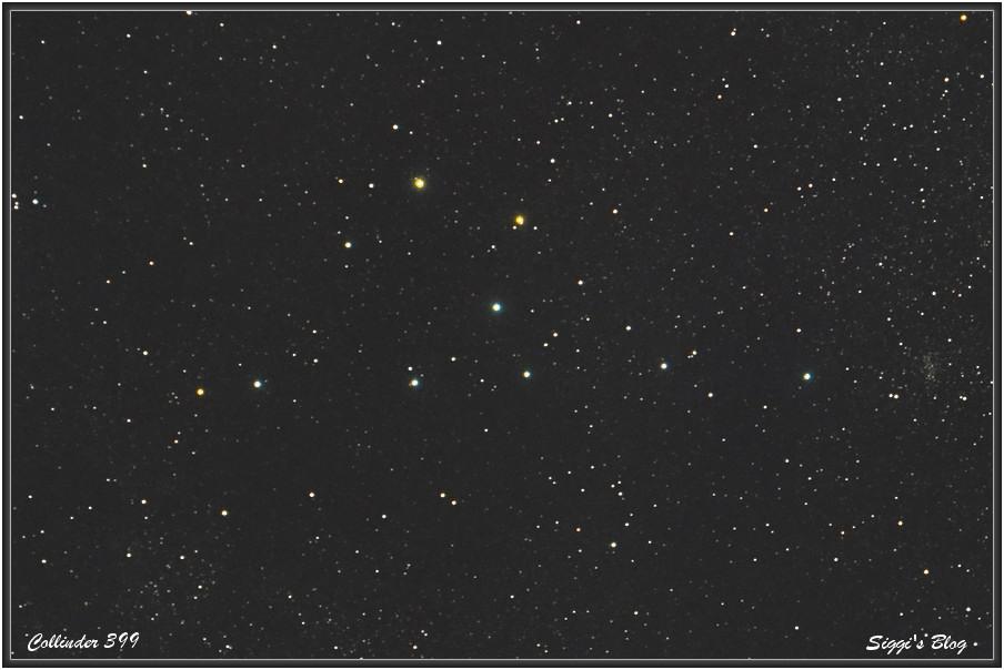 """150831 Colinder 399 / Brocchi's Cluster - """"Kleiderbügel"""""""