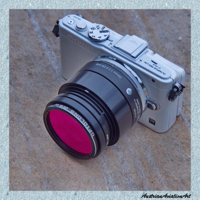 "E-PL6mod mit 2"" Optolong UVIR Cut adaptiert (Sigma Art. 30m/F2.8)"