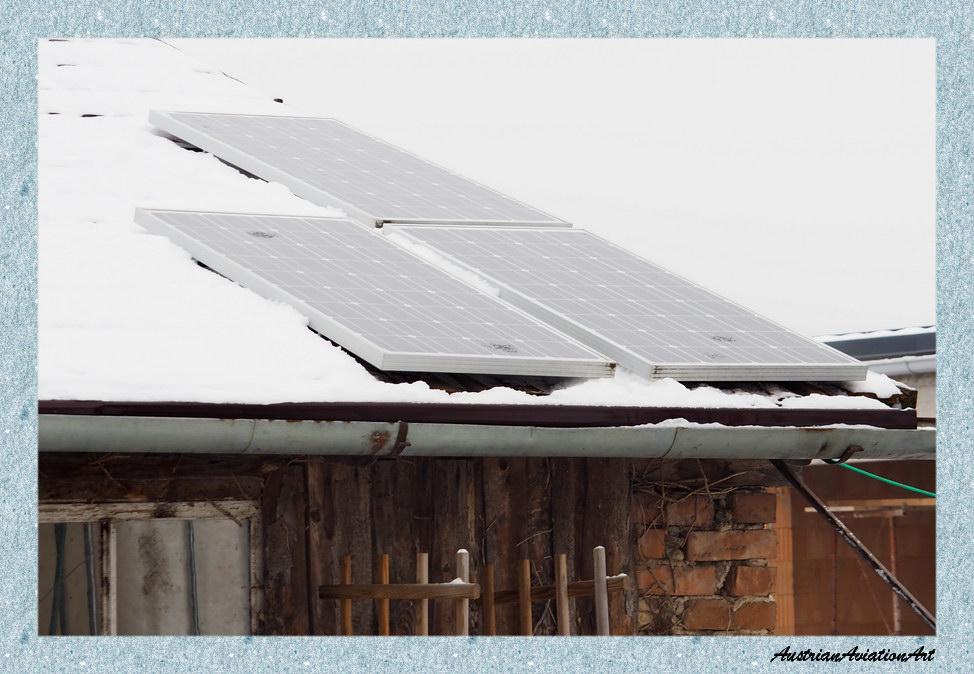 Solarstrom im Winter