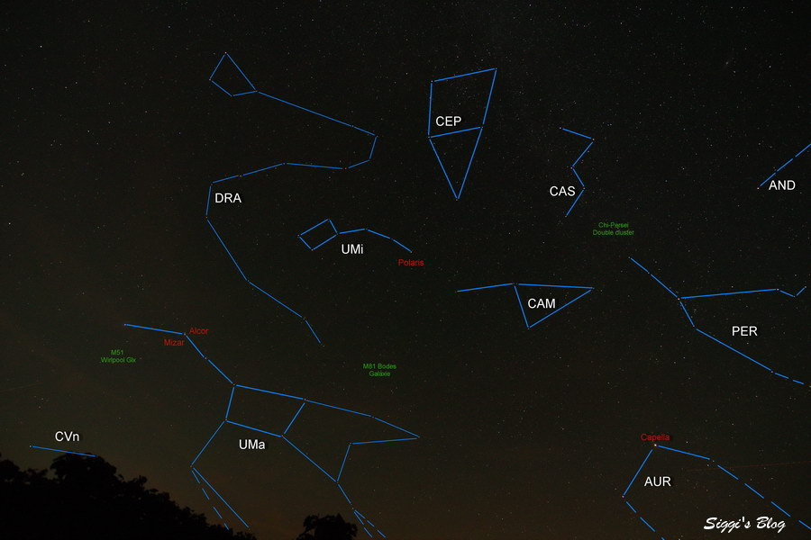 140828 Region um Polarstern - UMI UMa 7mm Anno