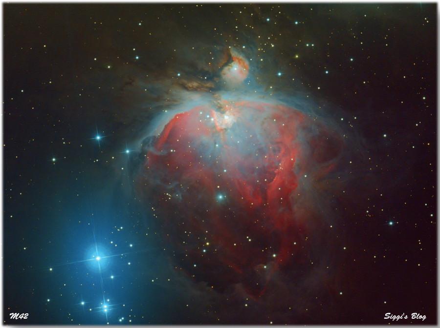 160129 M42 - Orion Nebel (HDR)