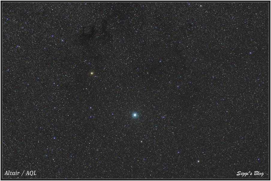 160701 E-Nebel und Altair (Aql)