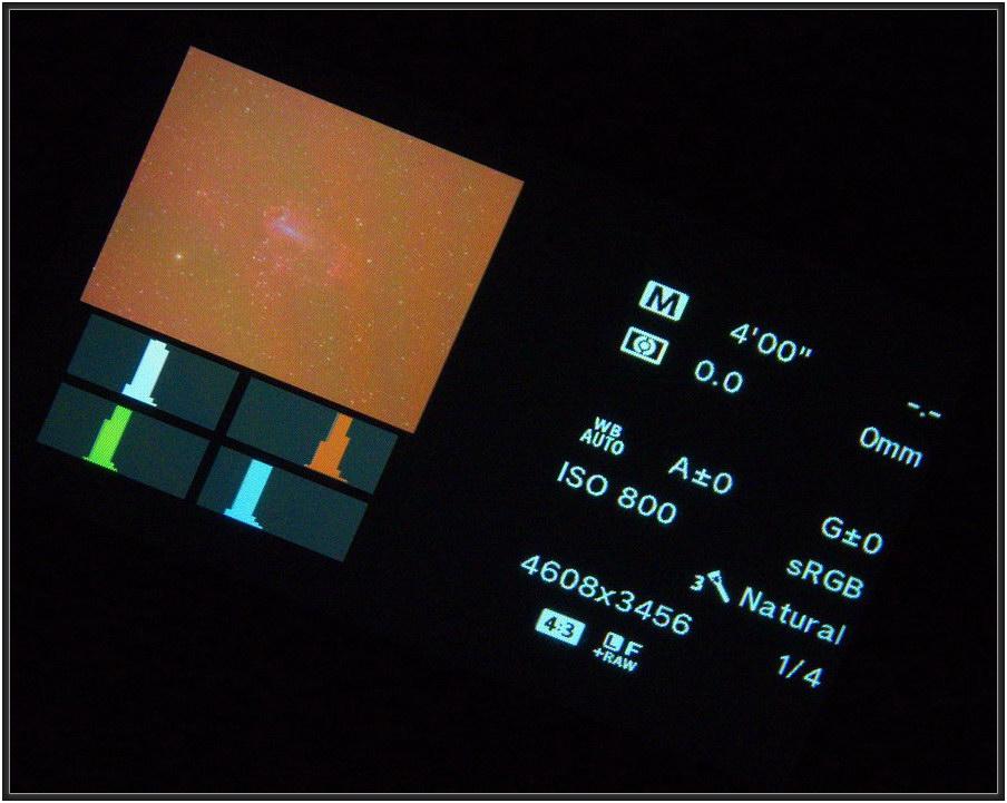 160801 M17 mm Kameradisplay beim Speichern