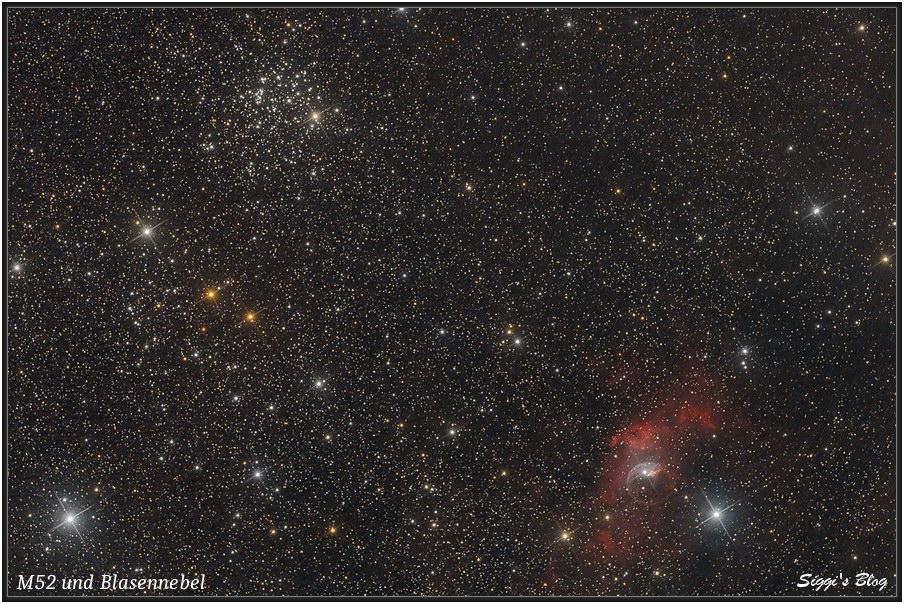 160828 Blasennebel NGC7635 & M52