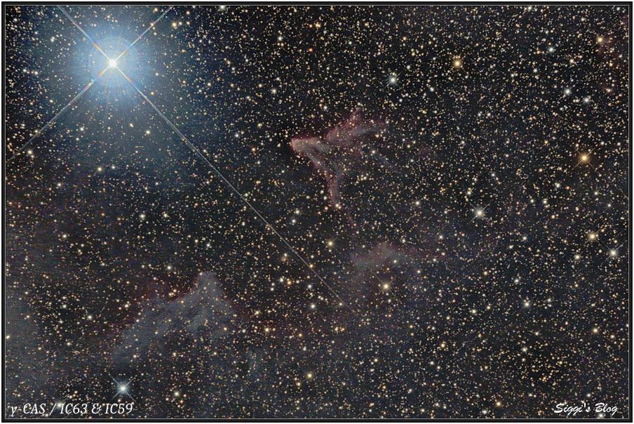 161004  γ-CAS Nebel /IC63 IC59