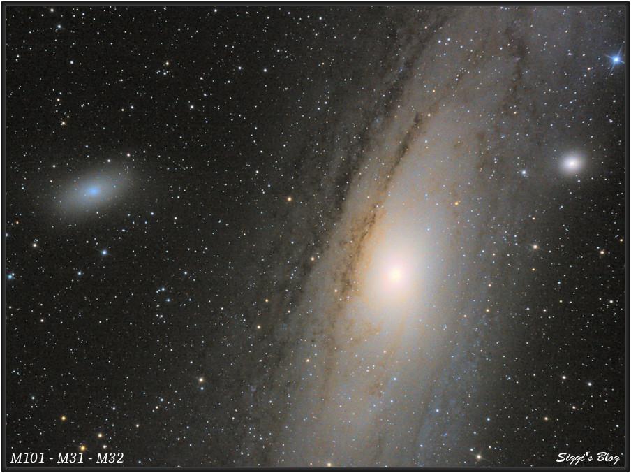 160831 Andromeda Galaaxie M31 (mit M110 und M32)