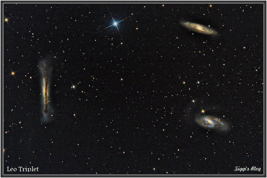 170226 Leo Triplet (M66, M65 und  NGC3628)