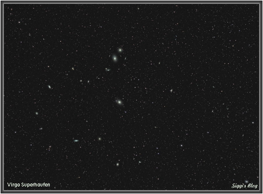 170421 Virgo Haufen umd M87 (Virgo Galaxie)