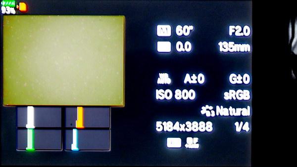170421 Histogramm der Kamera