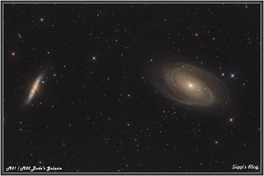 170521 M81 & M82 Bode's Galaxie und Zigarrengalaxie