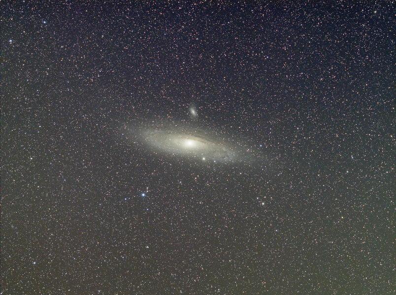 170814 M31 Rohbild