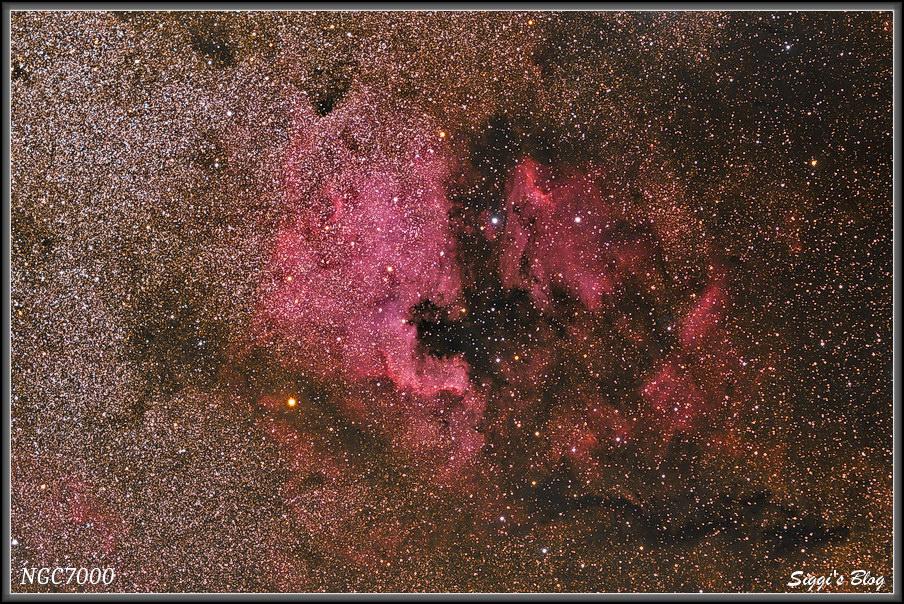 170728 NGC7000 N-Amerika Nebel & Pelikan Nebel