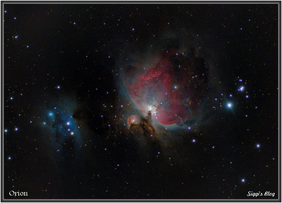 171229 Orion Nebel M42/M43 + Running Man