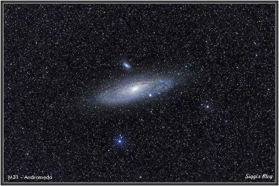 180913 M31  - Andromeda Galaxie