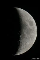190904 Mond 38% beleuchtet