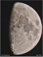 191205 Mond 65% Beleuchtet // 404.000 km