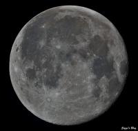 200112 Mond 98,3% beleuchtet