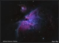 190214 M42 Zentrum + IR Sterne