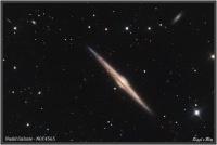 200421 NGC4565 Nadelgalaxie / Spindelgalaxie