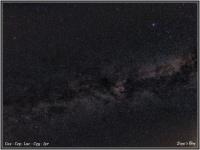 200611 Sternbilder Leier, Schwan, Eidechse, Kassiopeia, Kepheus / LYR CYG Lac Cas Cep