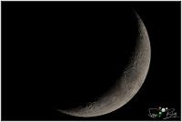 201218 Mond 19% Beleuchtet