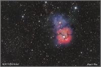 150721 M20 - Trifidnebel (Sgr)