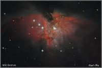160206 M42 Zentrum - Trapezium