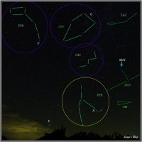160801 Sternhimmel August N/No PER-CAS-UMI anno