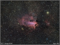 160801 M17 Omega Nebel (Schwanen Nebel)