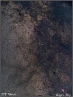 160801 Sternbild Schild (Scutum) - Milchstraße