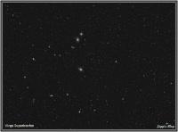 170421 Virgo Haufen umd M87 (Virgo Galaxie)