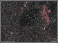 190310 Möwen Nebel (IC 2177) & Thor's Helm (NGC 2359)
