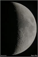 190510 Mond 36% Beleuchtet