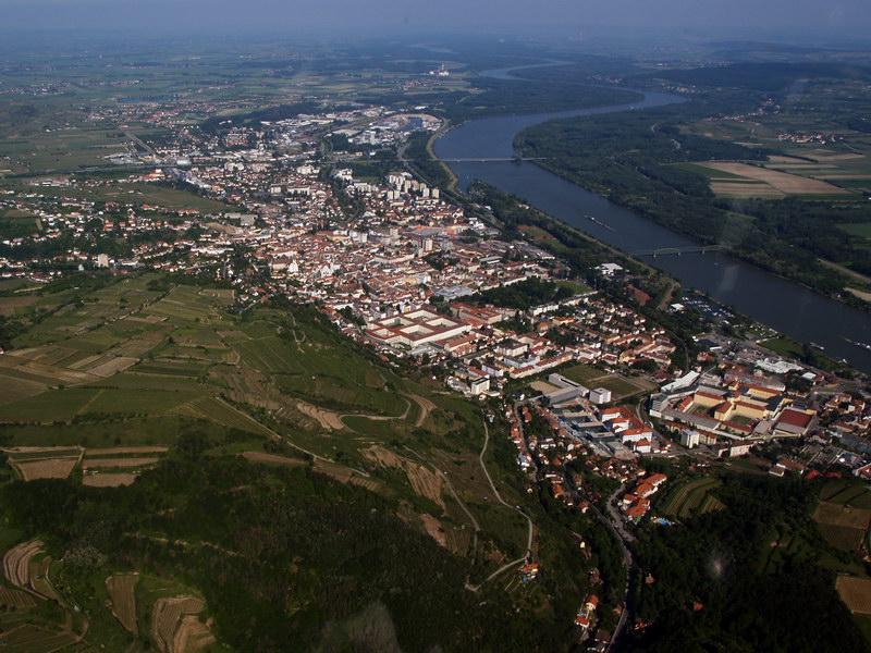 Krems An Der Donau Austria  city photos : Austrian Aviation Art Landscapes Areal Views Luftbilder